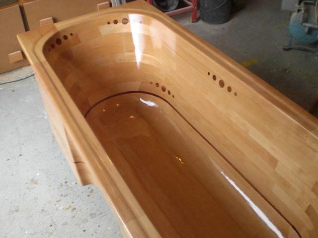 Деревянные ванны своими руками фото